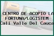 CENTRO DE ACOPIO LA FORTUNA/LOGISTEM Cali Valle Del Cauca
