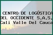 CENTRO DE LOGÚSTICA DEL OCCIDENTE S.A.S. Cali Valle Del Cauca