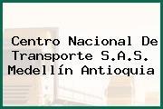 Centro Nacional De Transporte S.A.S Medellín Antioquia