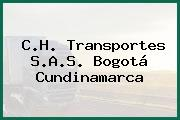 C.H. Transportes S.A.S. Bogotá Cundinamarca