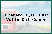 Chabeni E.U. Cali Valle Del Cauca