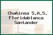 Chahinsa S.A.S. Floridablanca Santander