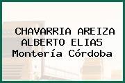 CHAVARRIA AREIZA ALBERTO ELIAS Montería Córdoba