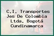 C.I. Transportes Jes De Colombia Ltda. Bogotá Cundinamarca