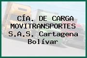 CÍA. DE CARGA MOVITRANSPORTES S.A.S. Cartagena Bolívar