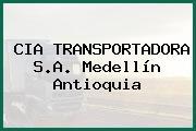 CIA TRANSPORTADORA S.A. Medellín Antioquia