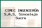 CIMEC INGENIERÚA S.A.S. Sincelejo Sucre