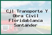 Cjl Transporte Y Obra Civil Floridablanca Santander