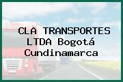CLA TRANSPORTES LTDA Bogotá Cundinamarca