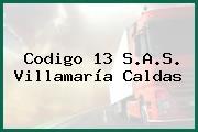 Codigo 13 S.A.S. Villamaría Caldas