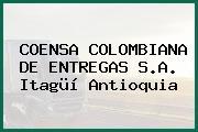 COENSA COLOMBIANA DE ENTREGAS S.A. Itagüí Antioquia