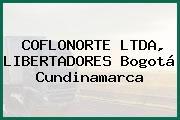 COFLONORTE LTDA, LIBERTADORES Bogotá Cundinamarca