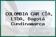 COLOMBIA CAR CÍA. LTDA. Bogotá Cundinamarca