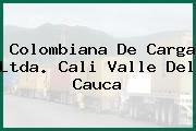 Colombiana De Carga Ltda. Cali Valle Del Cauca