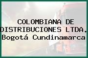 COLOMBIANA DE DISTRIBUCIONES LTDA. Bogotá Cundinamarca