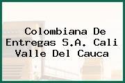 Colombiana De Entregas S.A. Cali Valle Del Cauca