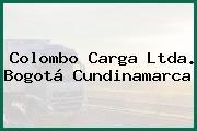 Colombo Carga Ltda. Bogotá Cundinamarca