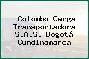 Colombo Carga Transportadora S.A.S. Bogotá Cundinamarca