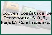 Colven Logística De Transporte S.A.S. Bogotá Cundinamarca