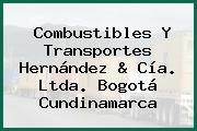 Combustibles Y Transportes Hernández & Cía. Ltda. Bogotá Cundinamarca