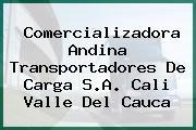 Comercializadora Andina Transportadores De Carga S.A. Cali Valle Del Cauca