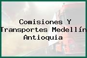 Comisiones Y Transportes Medellín Antioquia
