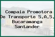 Compaia Promotora De Transporte S.A.S. Bucaramanga Santander