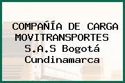COMPAÑÍA DE CARGA MOVITRANSPORTES S.A.S Bogotá Cundinamarca