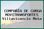 COMPAÑÍA DE CARGA MOVITRANSPORTES Villavicencio Meta