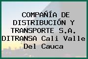 COMPAÑÍA DE DISTRIBUCIÓN Y TRANSPORTE S.A. DITRANSA Cali Valle Del Cauca