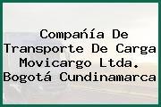 Compañía De Transporte De Carga Movicargo Ltda. Bogotá Cundinamarca