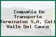 Compañía De Transporte Terminales S.A. Cali Valle Del Cauca