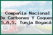 Compañia Nacional De Carbones Y Coques S.A.S. Tunja Boyacá