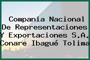 Compania Nacional De Representaciones Y Exportaciones S.A. Conare Ibagué Tolima
