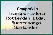 Compañia Transportadora Rotterdan Ltda. Bucaramanga Santander