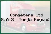 Congeters Ltd S.A.S. Tunja Boyacá