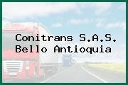 Conitrans S.A.S. Bello Antioquia