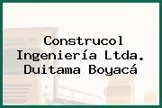 Construcol Ingeniería Ltda. Duitama Boyacá