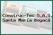 Construc-Tec S.A.S. Santa María Boyacá