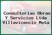 Consultorias Obras Y Servicios Ltda Villavicencio Meta
