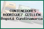 CONTENEDORES RODRÍGUEZ GUILLÉN Bogotá Cundinamarca