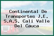 Continental De Transportes J.E. S.A.S. Cali Valle Del Cauca
