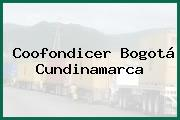 Coofondicer Bogotá Cundinamarca