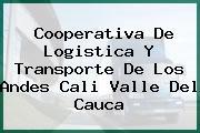 Cooperativa De Logistica Y Transporte De Los Andes Cali Valle Del Cauca