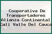Cooperativa De Transportadores Alianza Continental Cali Valle Del Cauca