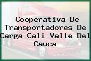 Cooperativa De Transportadores De Carga Cali Valle Del Cauca