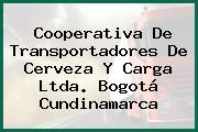 Cooperativa De Transportadores De Cerveza Y Carga Ltda. Bogotá Cundinamarca