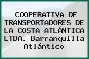 COOPERATIVA DE TRANSPORTADORES DE LA COSTA ATLÁNTICA LTDA. Barranquilla Atlántico