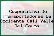 Cooperativa De Transportadores De Occidente Cali Valle Del Cauca