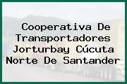 Cooperativa De Transportadores Jorturbay Cúcuta Norte De Santander